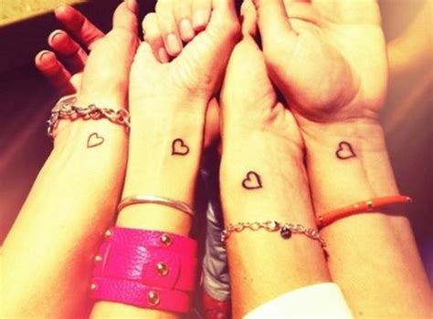 simple best friend tattoos best friends tattoos c i like these to cx