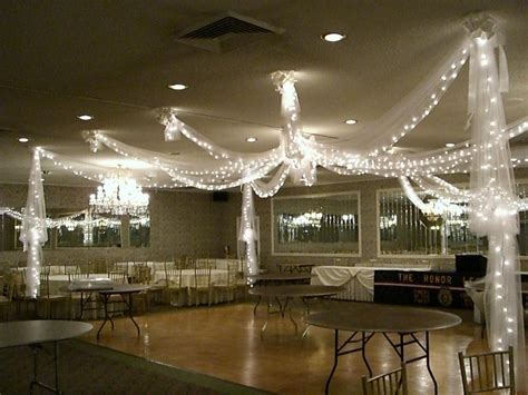 Tulle Draping Over Dance Floor From Party Time Designs In