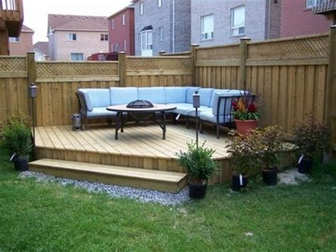 Deck Ideas For Small Backyards Small Backyard Patio Designs Photos This For All