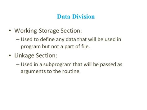 all around cobol