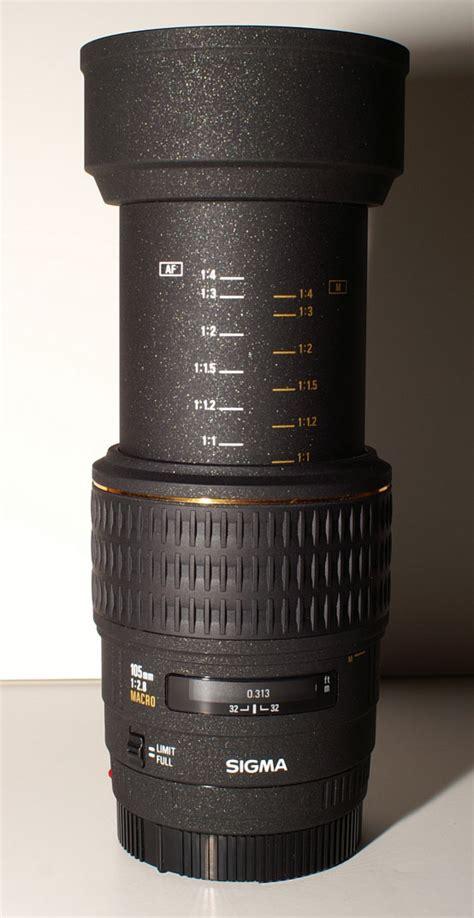 Sigma 105mm Macro sigma 105mm f2 8 ex macro a mount lens info