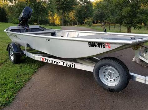 xtreme skiff 2017 xtreme aluminum river skiff boat 6800
