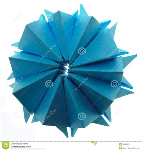 Origami Snowflake Design - origami snowflake royalty free stock photo image 12843875
