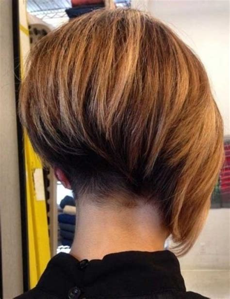 wiew of back of the head with asymetrical haircut asymmetrical bob haircut back view for your hair glamor