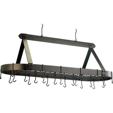 Hanging Pan Rack Hanging Pot Rack Large In Hanging Pot Racks
