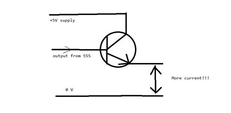 transistor 2n3055 working transistors how to get more current from 555 timer electrical engineering stack exchange