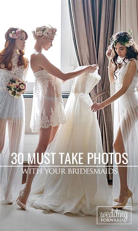 Where To Take Wedding Photos by 36 Must Take Wedding Photos With Your Bridesmaids 2536360