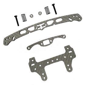 rcjaz au tamiya mini 4wd sliver carbon wide front swing roller plate 3racing m4wd 50 sg