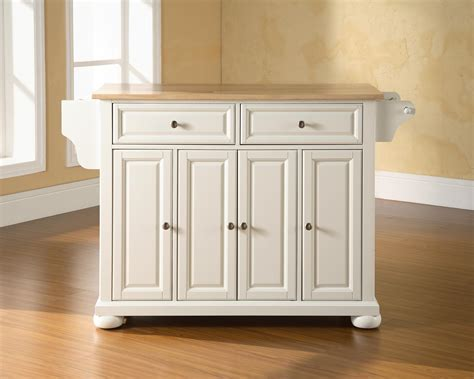 kitchen island storage design white wooden kitchen island with double drawers and four