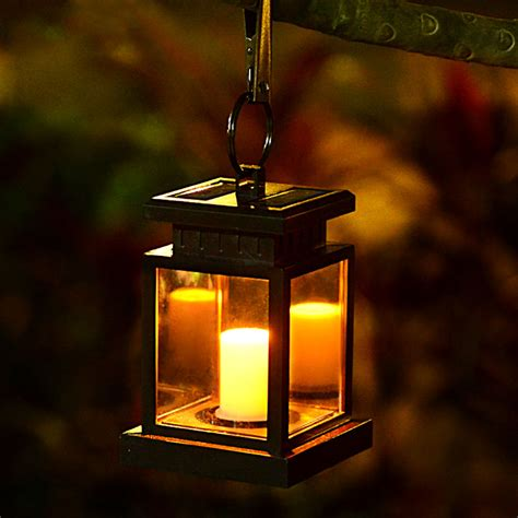 solar lantern lights outdoor 2 pcs solar led wall l motion activated security lights