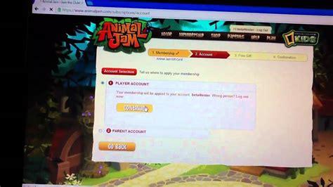 Animal Jam Free Membership Gift Card Codes - animal jam free membership gift card codes lamoureph blog