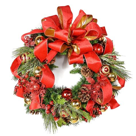 christmas wreaths for the front door