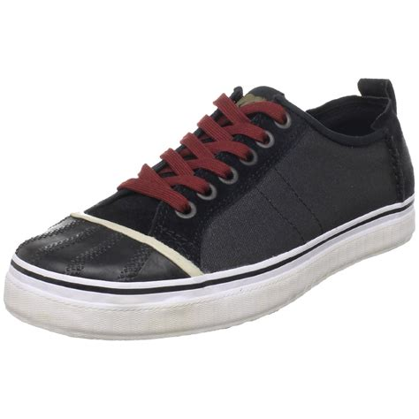 mens canvas sneakers sorel sorel mens sentry sneaker canvas in black for lyst