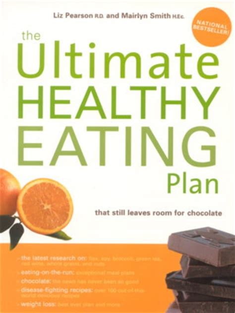healthy food healthy books the ultimate healthy plan liz pearson