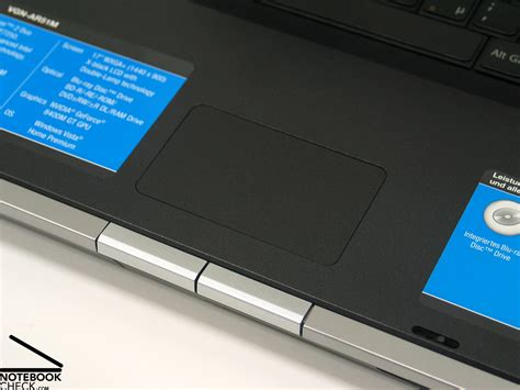 Touchpad Vaio by Review Sony Vaio Vgn Ar51m Notebook Notebookcheck Net
