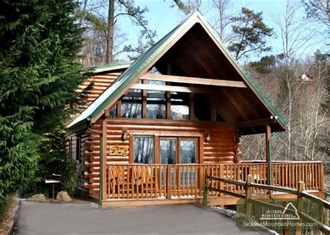 Jackson Cabin Rentals by Peace Of Mind 1 Bedroom Cabin Rental In Gatlinburg