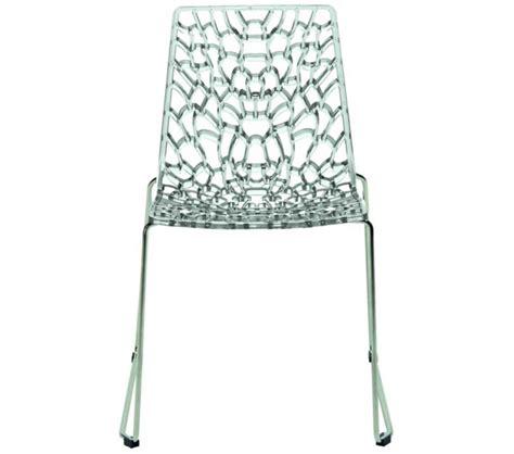 Italian Modern Dining Chairs Dreamfurniture Groove Modern Italian Dining Chair