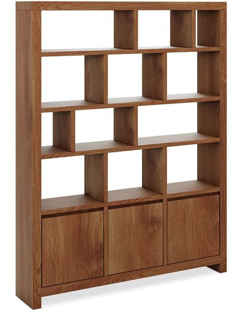 achat bibliotheque biblioth 232 que bois 3 portes scandinave lestendances fr
