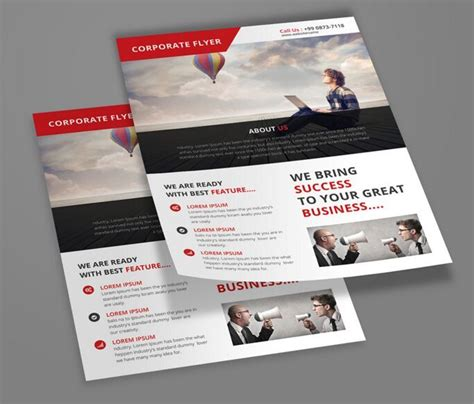 100 high quality free flyer and brochure mock ups