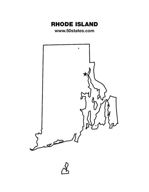 blank map  rhode island find  map