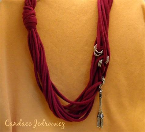Neackless Chain Blouse 17 best images about t shirt necklaces on shirt scarves crafts and kaleidoscopes