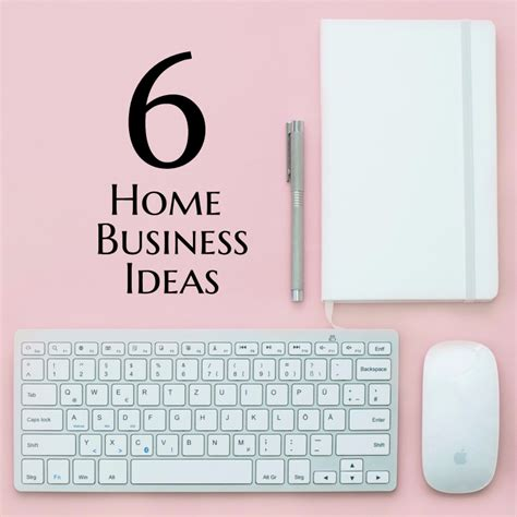 Easy Small Home Business Ideas 6 Easy Home Business Start Up Ideas Work In My Pajamas