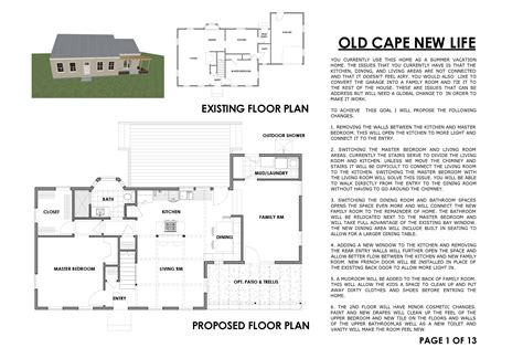 cape cod renovation floor plans arcbazar com viewdesignerproject projecthome remodeling