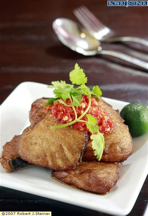 Goreng Garem ikan goreng cili garam by the blue restaurant