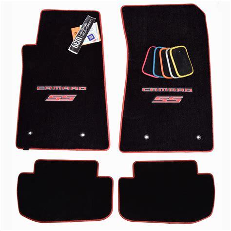2010 Camaro Ss Floor Mats by Chevrolet Camaro Ss Floor Mats Logo Trim