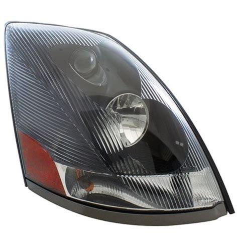 Headlight Flap Chrome black volvo vn headlight 2004 and newer 187 75 chrome shop