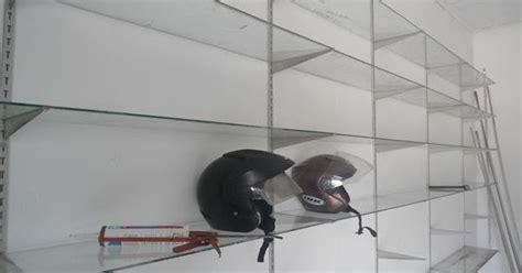 Rak Multiplex pemasangan rak dinding minimalist