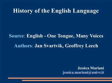 biography of english language pdf history of the english language pdf 1