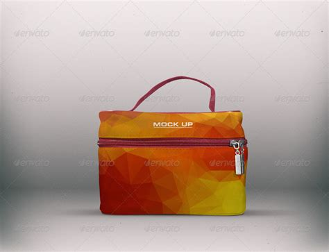 Travel Pouch Kalibre Axure 02 cosmetic travel mockup by fusionhorn graphicriver
