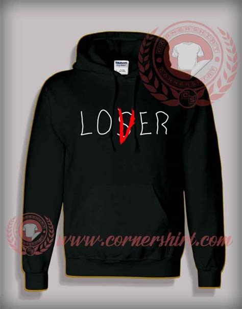 Sweater Lover Loser lover not loser it pullover hoodie by cornershirt