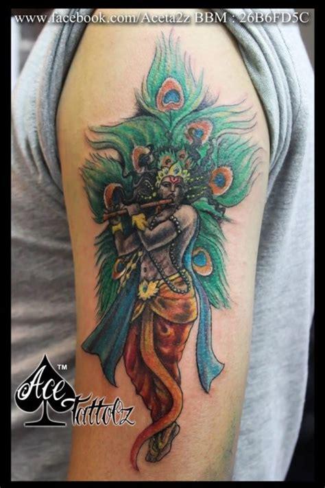 tattoo of name vishnu lord krishna tattoos ace tattooz
