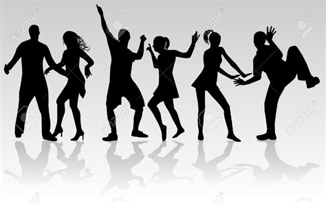party silhouette party dancing silhouette www pixshark com images
