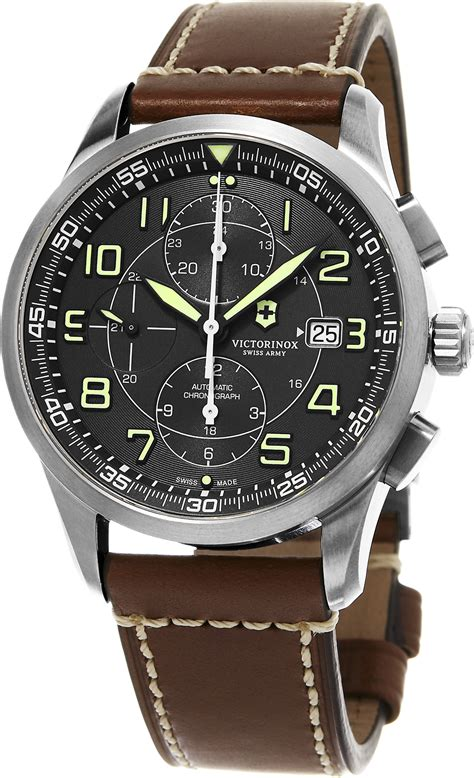 Swiss Army 2195 swiss army airboss mechanical chronograph s