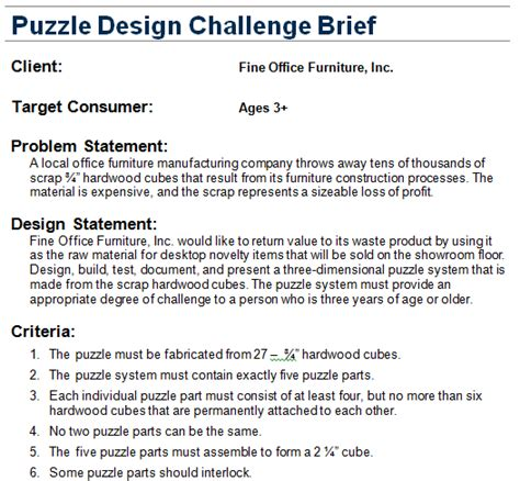 design brief civil engineering puzzle cube jonah s pltw porfolio