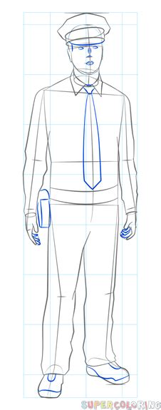 printable version nrl draw 2015 how to draw a policeman step by step drawing tutorials
