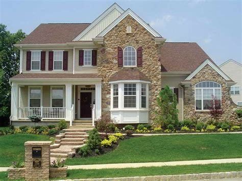 Custom Home Front Exterior Executive Style Front Exterior Home Siding Design Tool