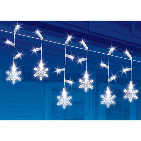 everstar twinkling snowflake led light 60 pk outdoor
