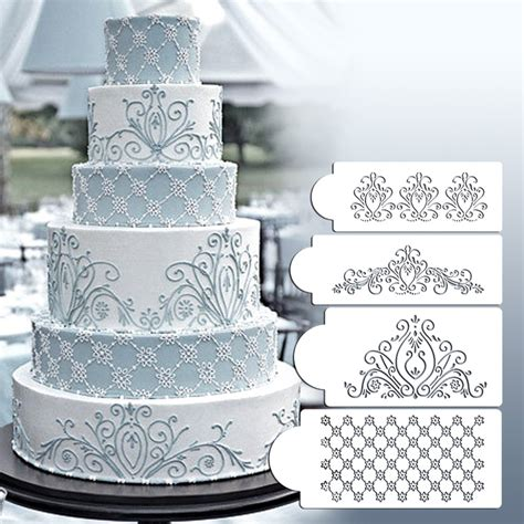 lace templates for cakes princess lace cake stencil set cake craft stencils cake