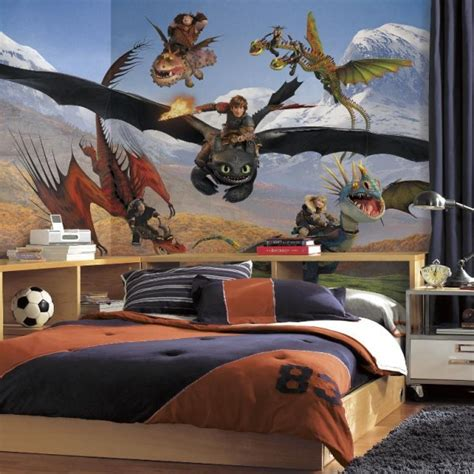 Dragon Wall Murals how to train your dragon mural wallpaper brokers