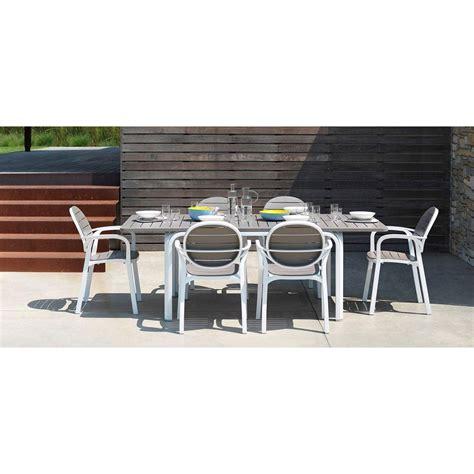 set tavolo giardino set tavolo alloro 210 con 6 sedie palma nardi garden