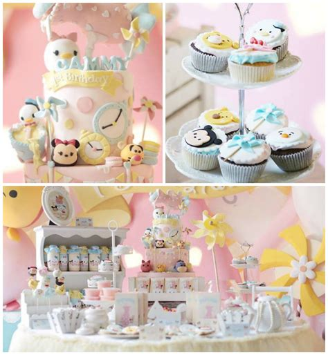 Kara's Party Ideas Disney's Tsum Tsum Inspired Birthday Party