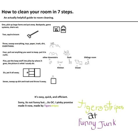 How To Clean Room Step By Step by Clean Your Room Mr