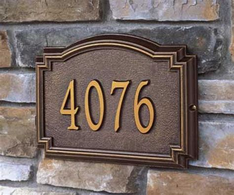 Best 25 House Number Plaques Ideas On Pinterest Diy With Front Door Number Plates