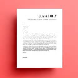 cover letter design template 25 unique cover letter template ideas on