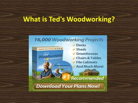 teds woodworking scam teds woodworking reviews scam or not