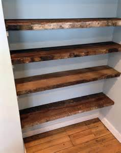 reclaimed barn wood shelves 31 magnificent reclaimed wood shelves